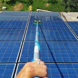 Solar panel cleaning Corona, CA
