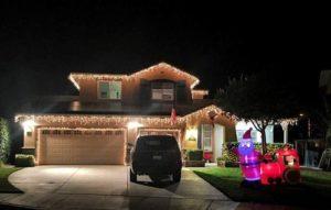 Christmas Light Installation Corona, CA